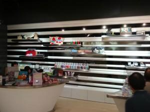 上海地下鉄博物館のミュージアムショップ