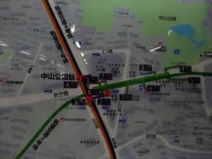 中山公園駅周辺図