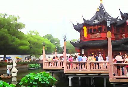 豫園七曲橋