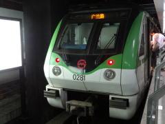 上海軌道交通2号線(地下鉄)