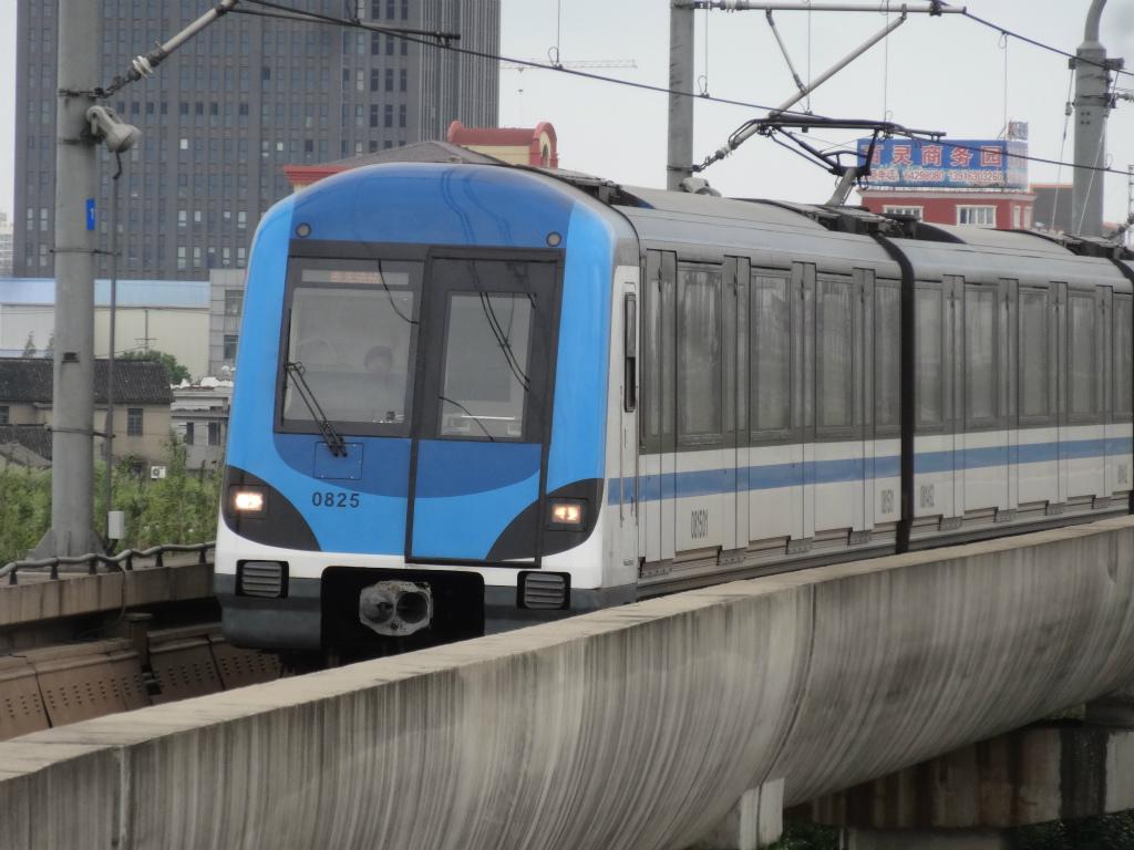 上海軌道交通8号線(地下鉄8号線...