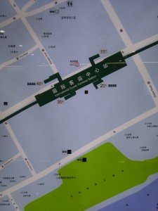 国際客運中心駅周辺図