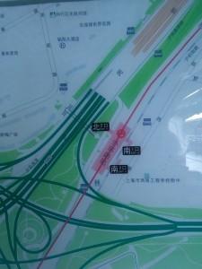 外環路駅周辺図