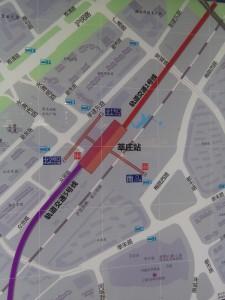 莘庄駅周辺図