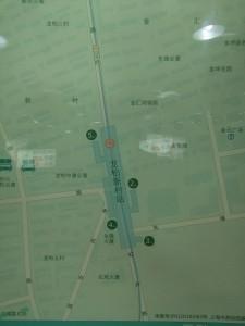 龍柏新村駅周辺図