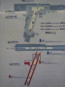 肇嘉浜路駅構内図