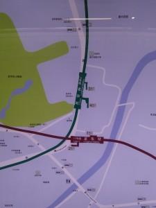 龍華駅周辺図