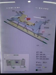 龍漕路駅構内図(12号線)