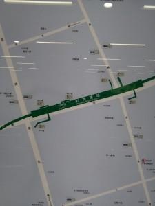 虹梅路駅周辺図