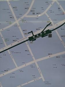 提籠橋駅周辺図