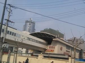 曹楊路駅外観