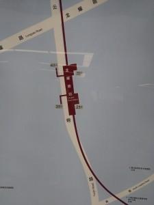 龍耀路周辺図(出入り口)