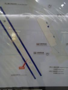 楊樹浦路駅構内図