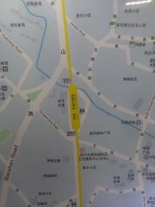 東宝興路駅周辺図(出入り口)
