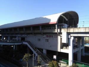 南翔駅外観