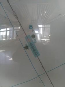 白銀路駅周辺図(出入り口)