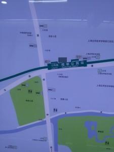 桂林公園駅周辺図(出入り口)