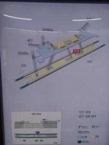 桂林公園駅構内図