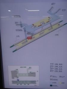 東蘭路駅構内図