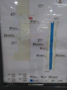 市光路構内図