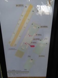 赤峰路駅構内図