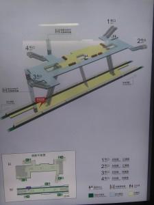 江浦公園駅構内図
