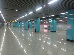 隆昌路駅コンコース