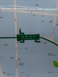 東陸路駅周辺図(出入り口)