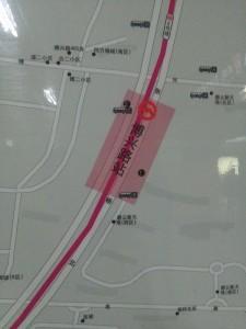博興路駅周辺図(出入り口)