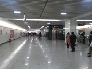 顧村公園駅コンコース