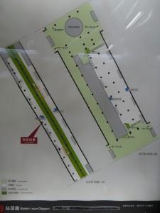 浦東国際機場駅構内図