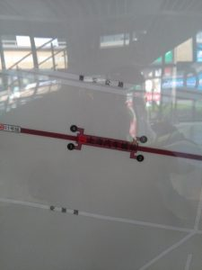 上海汽車城駅周辺図(出入り口)