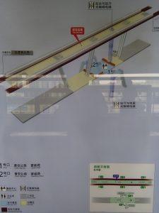 兆豊路駅構内図