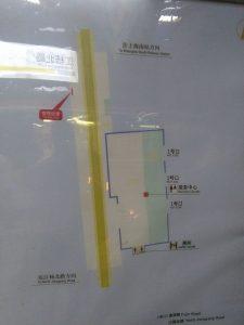 江楊北路駅構内図