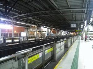 張華浜駅ホーム