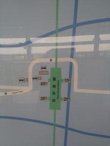 恵南東駅周辺図(出入り口)