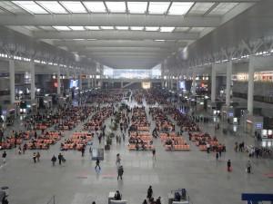 上海虹橋駅コンコース