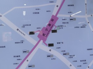 武寧路駅周辺図