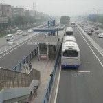 奉賢区で上海初のBRTバス路線着工