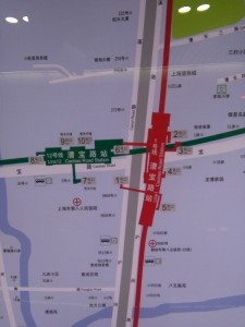 漕宝路駅周辺図