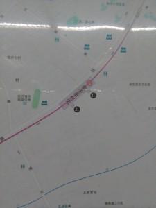 臨沂新村駅周辺図(出入り口)