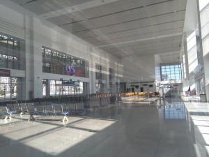 上海西駅(上海西站)構内