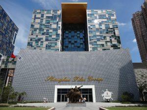 上海電影博物館(上海映画博物館)館外観
