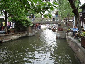 朱家角風景区の泰安橋