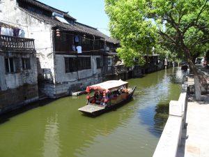 楓涇(水郷の街)