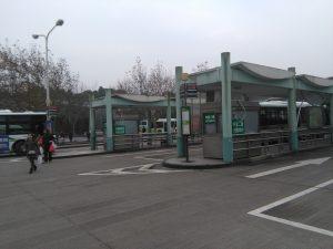 上海科技館公交站