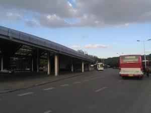 松江大学城站(公共路線バスターミナル)