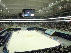 東方体育中心(アイススケート仕様)