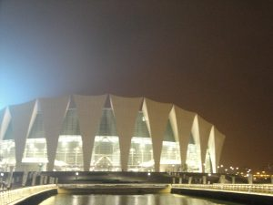 東方体育中心外観