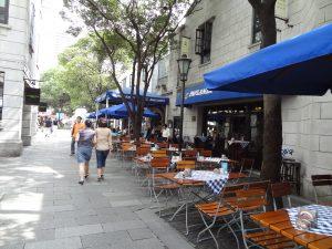 上海新天地のレストラン街